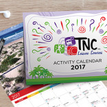 TNC 2017 Activity Calendar – Design & Print